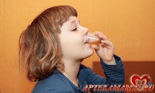 Глисты у детей лечение