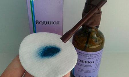 Раствор йодинола